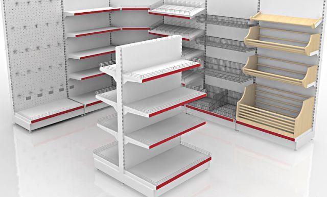 стеллажи для магазина производство торгового оборудования проектирование  магазинов aae988809cb