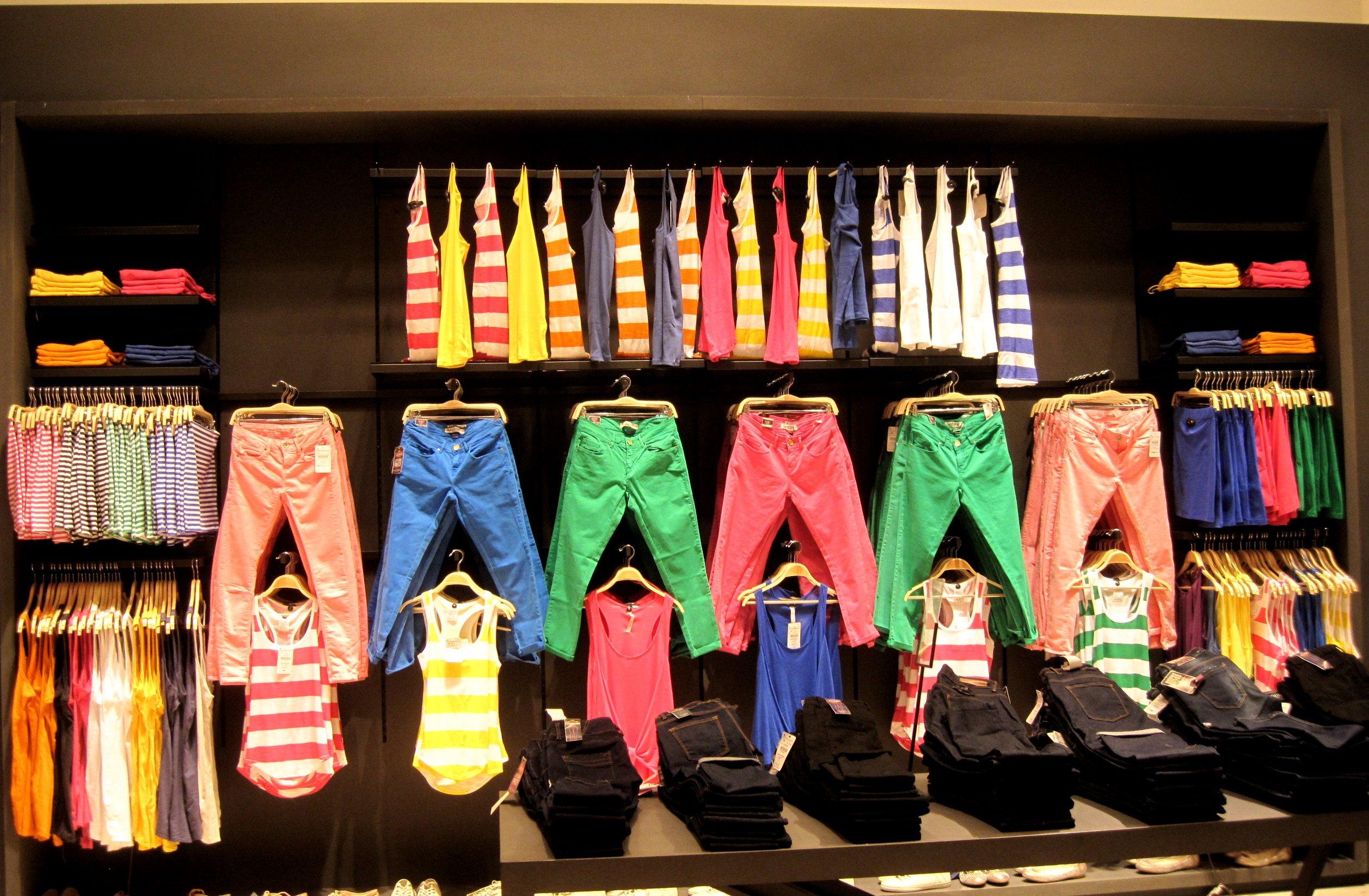 bde5283f2 Мерчендайзинг (мерчандайзинг) одежды : 5 шагов для грамотной ...