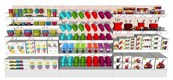 магазин игрушек правила раскладки товара на витрине